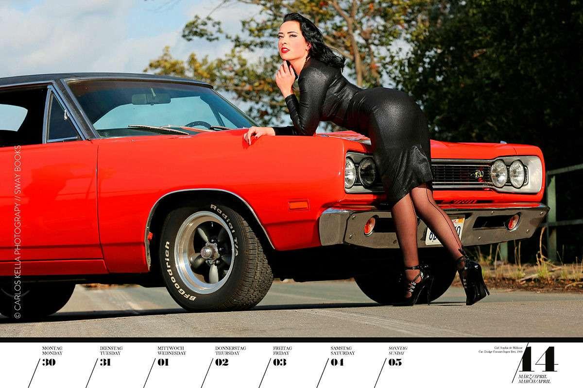 16красоток и29легендарных тачек Америки— ваш календарь-2020— фото 1003759