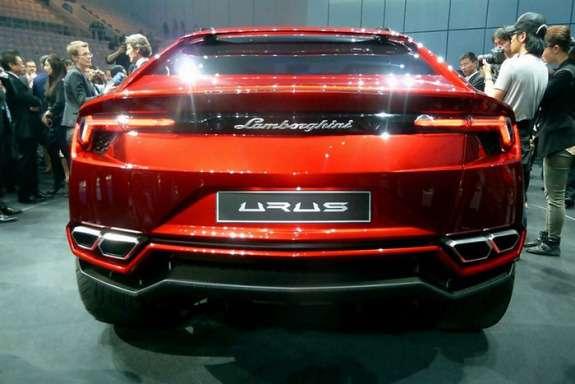 Lamborghini Urus Concept rear view