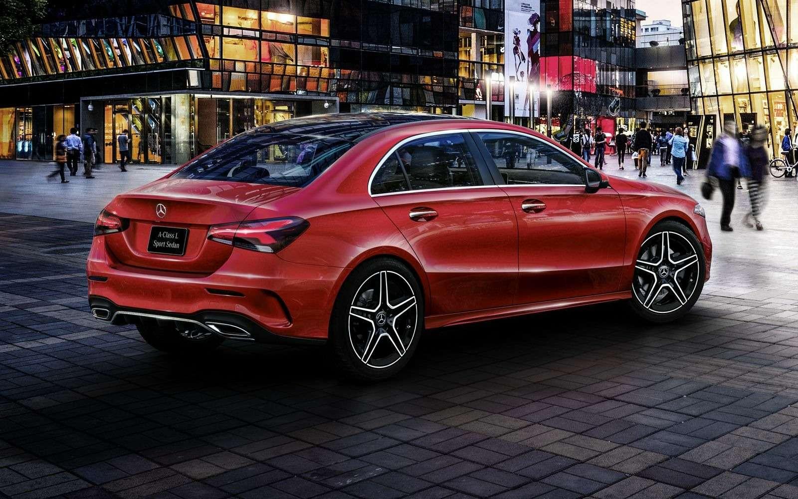Mercedes-Benz A-класса растянули доразмеров Камри!— фото 865713
