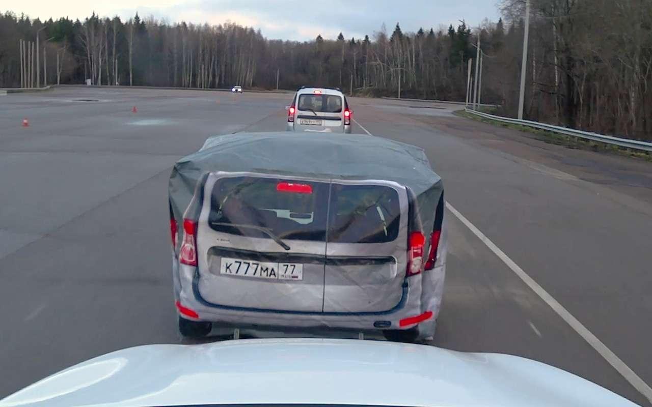 Система автоторможения: она вообще работает? Супертест— фото 1028385