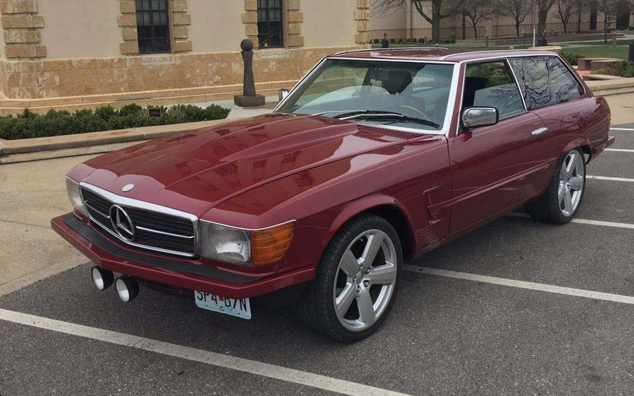 Да, иэто тоже Mercedes! 15самых странных модификаций— фото 991897