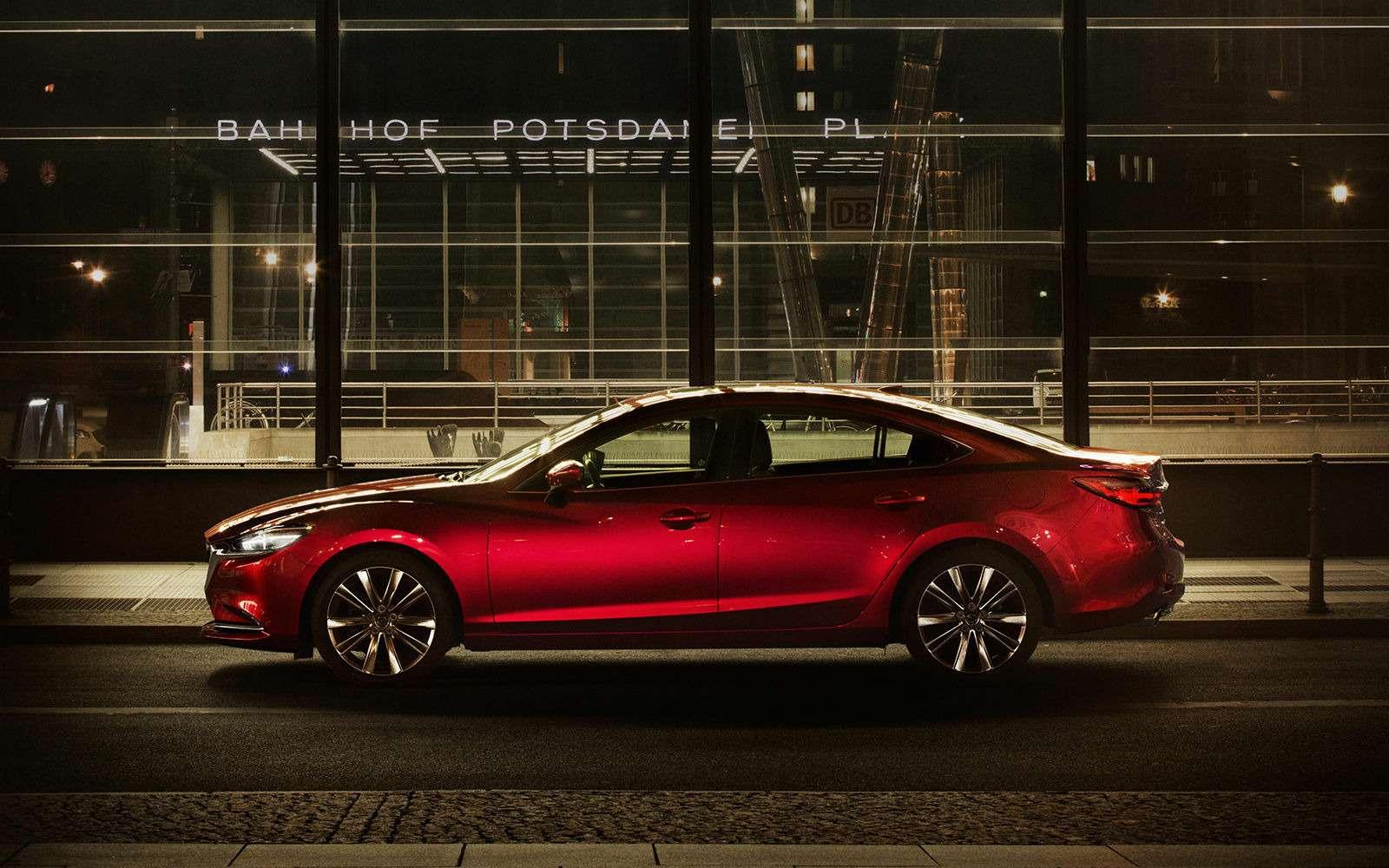 Обновленная Mazda 6— дорого ибогато— фото 821655