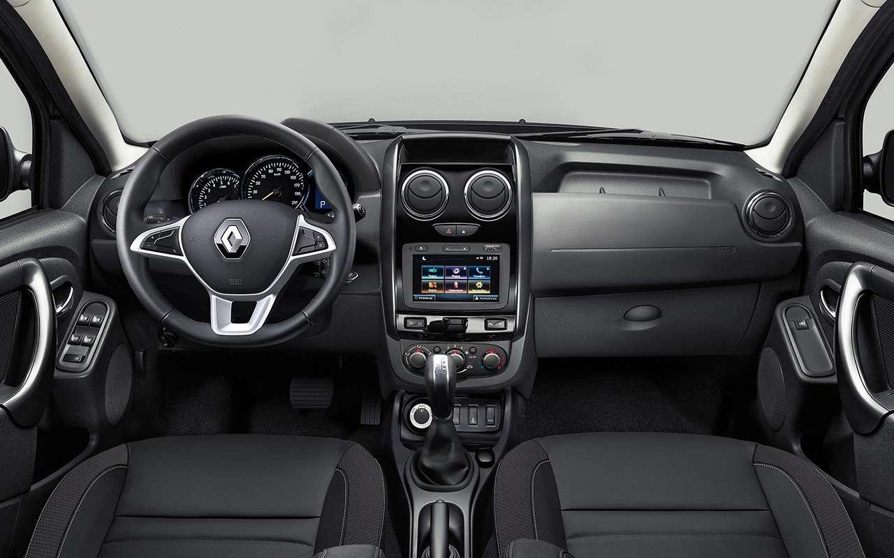 Renault Duster 2019: чем оннас удивит— фото 951205
