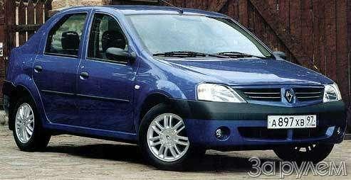 Renault Logan. Правильными дорожками— фото 56959