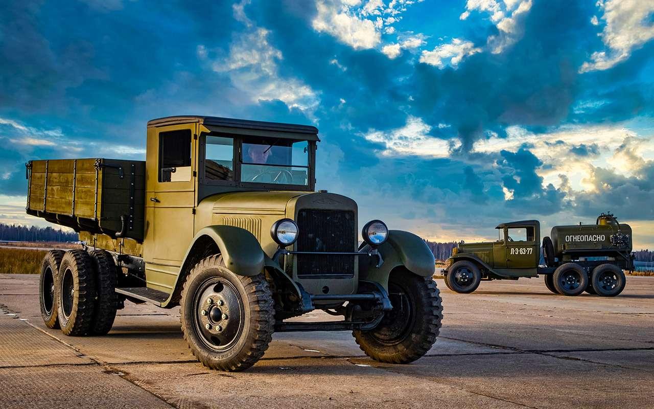 Машины Победы: ретротест настоящих фронтовых грузовиков— фото 1121578