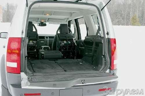 Тест Nissan Patrol, Land Rover Discovery 3, Volkswagen Tuareg. Век нынешний ивек минувший?— фото 55027