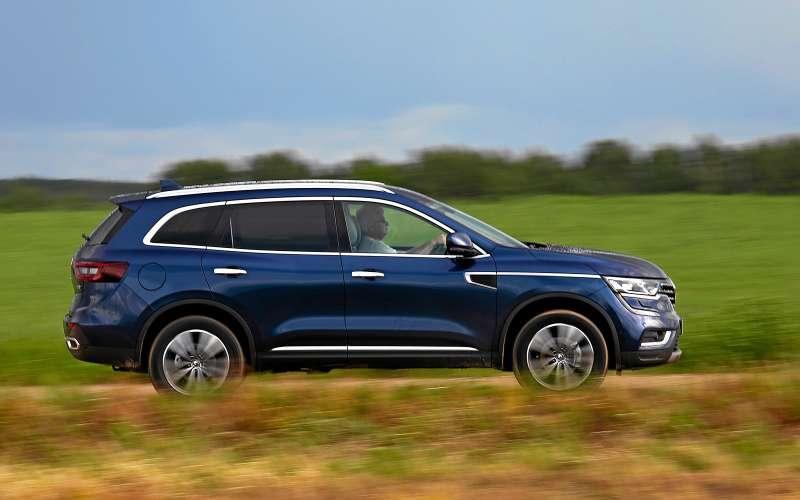 Новый Renault Koleos против конкурентов: буржуа, лесник иленивец