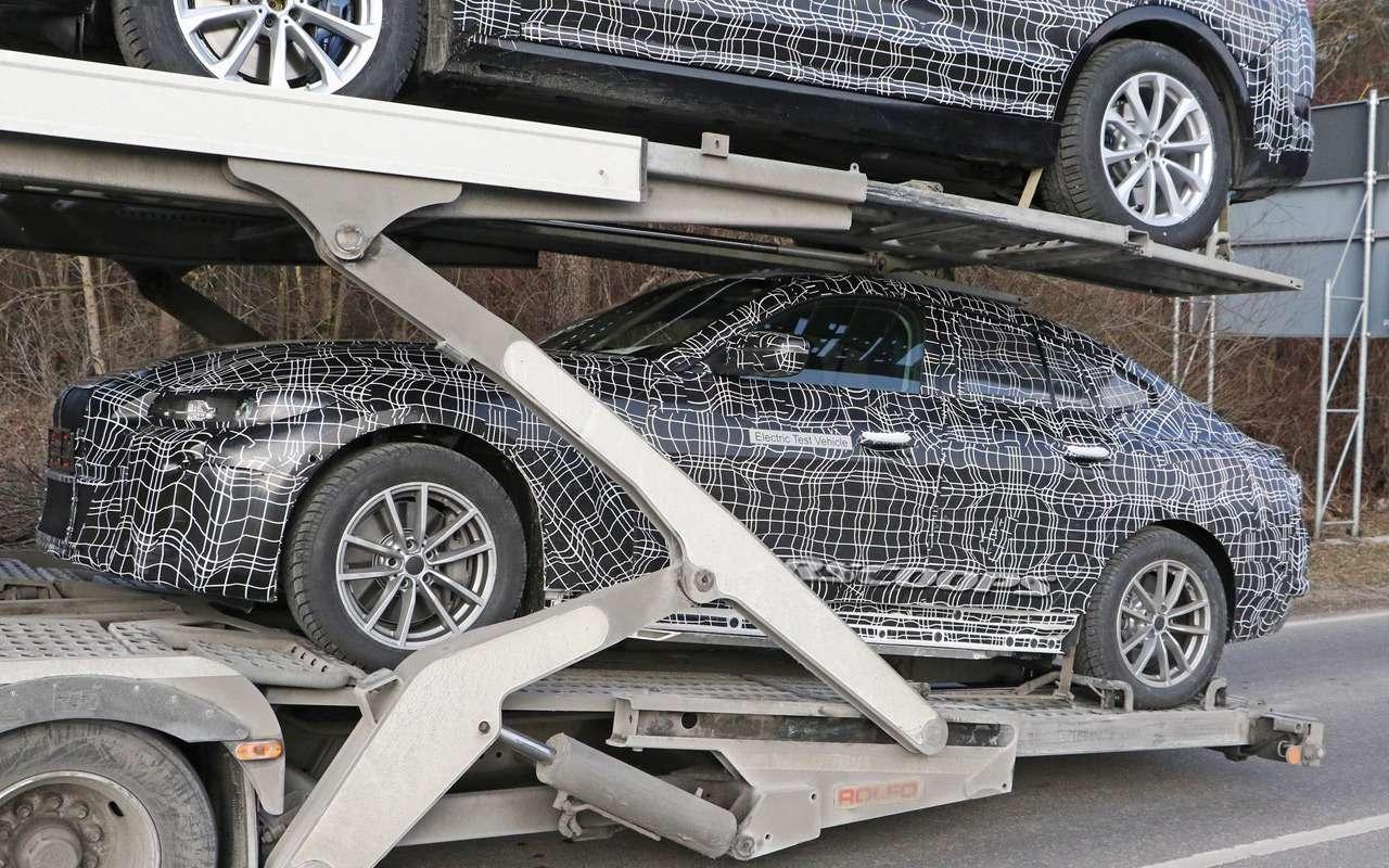Новую модель BMW впервые сфотографировали— фото 943240