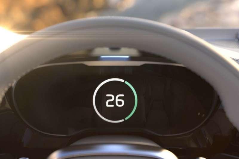 Volvo Time Machine Concept Dashboard Tease