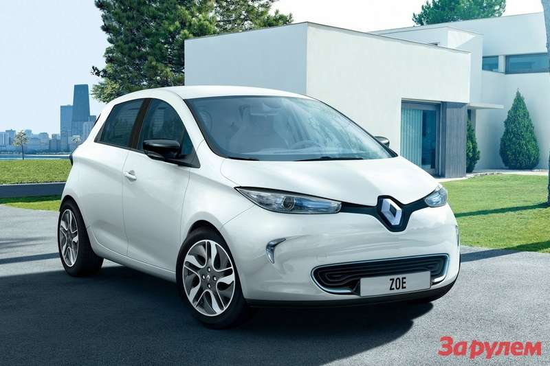 Renault ZOE side-front view
