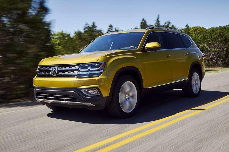 Volkswagen Teramont/ Atlas 2017