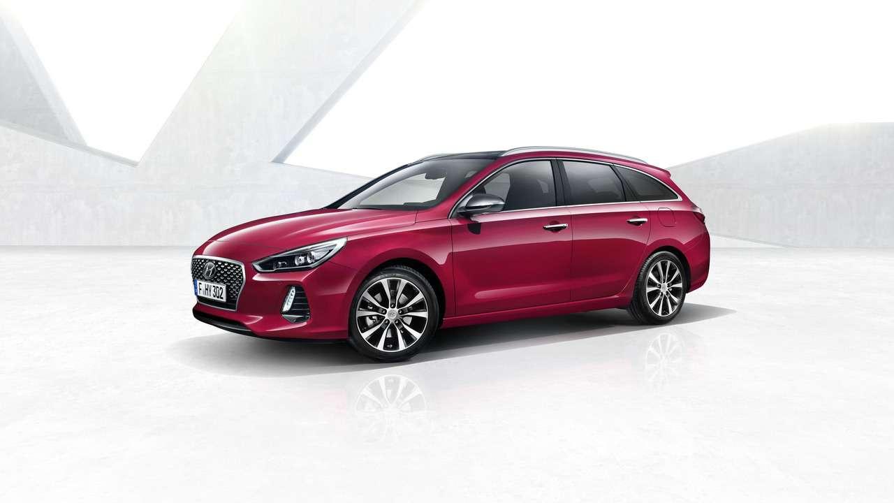 Влезет все: Hyundai представила i30 Tourer— фото 711018