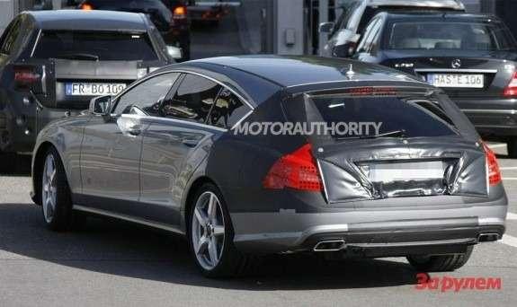 Mercedes-Benz CLS-klasse Shooting Break side-rear view