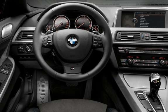 BMW 6-Series with M-package inside
