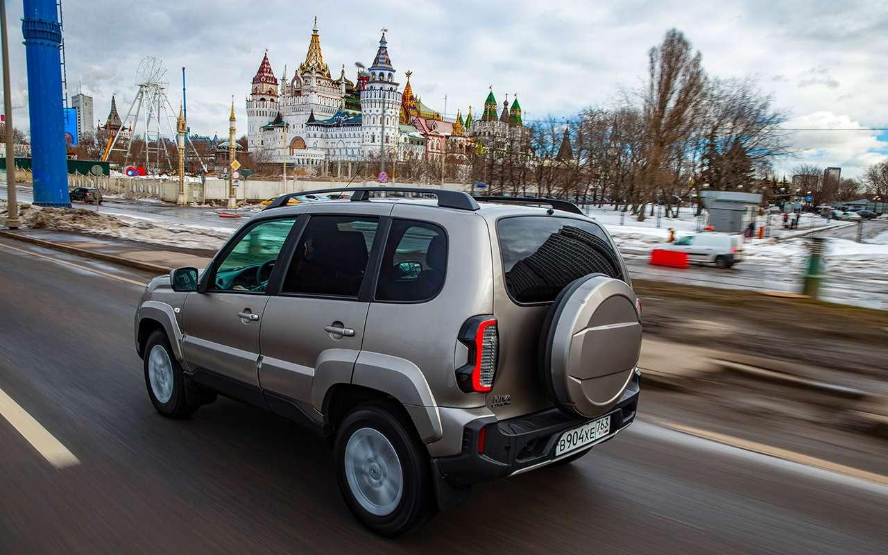 Нашвнедорожник за900000: новая Нива Travel или УАЗ спробегом?— фото 1245096
