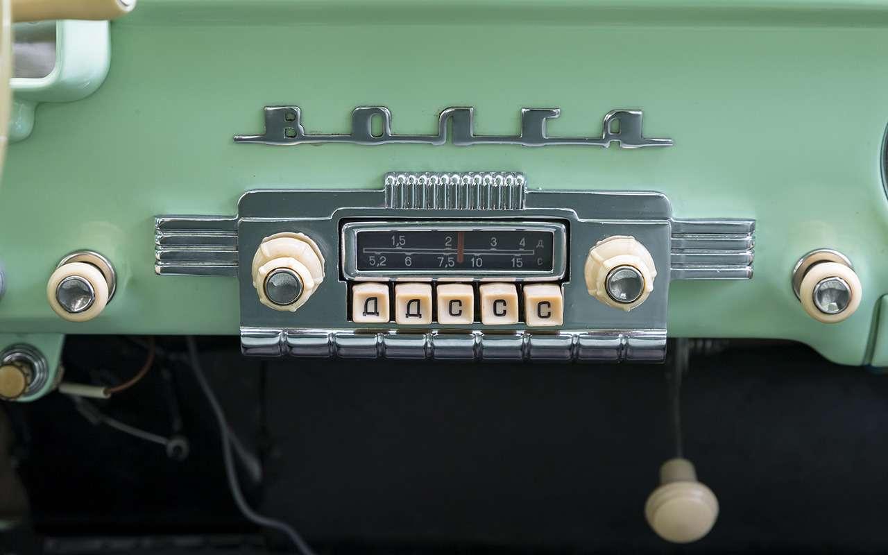 Самое крутое авто из прошлого: 9 фактов о ГАЗ-21 - фото 1250420