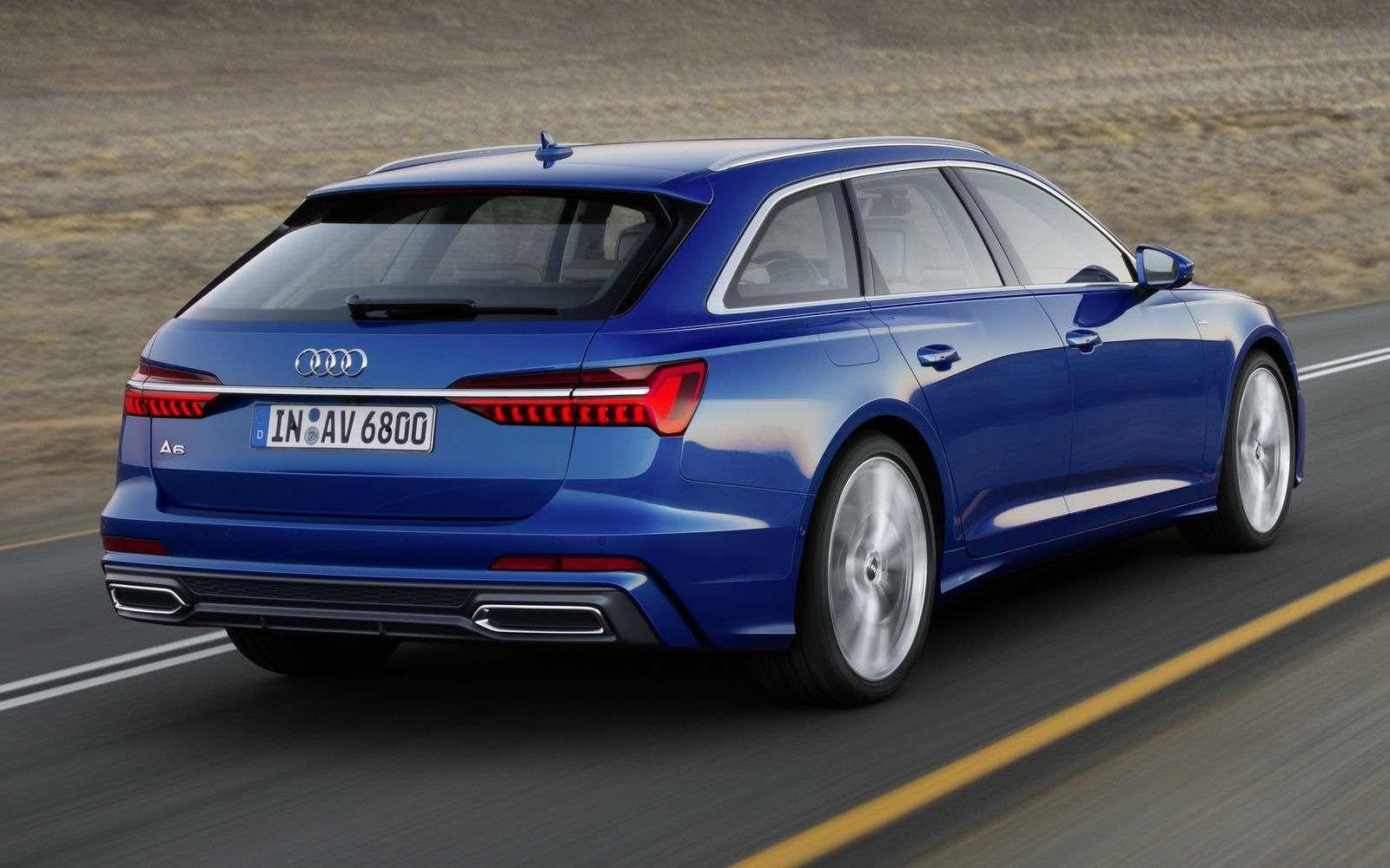 Новый Audi A6Avant: элегантность превыше всего— фото 861647