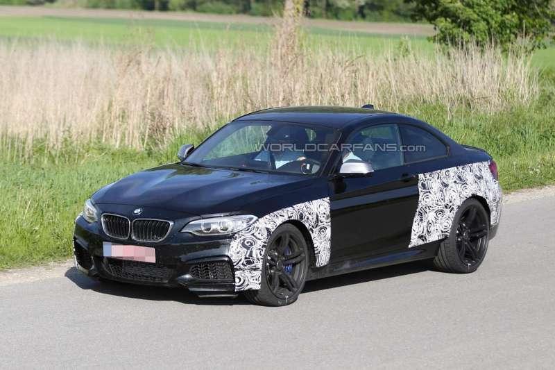 Шпионское фото купе BMW M2
