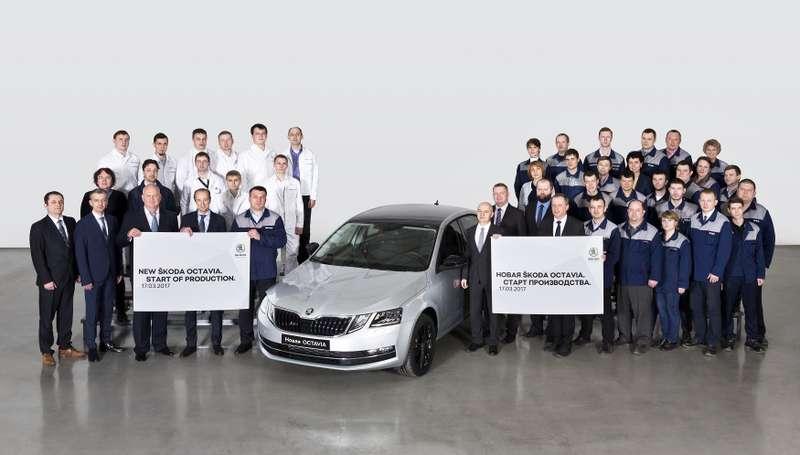 Обновленная Skoda Octavia: старт производства вНижнем Новгороде