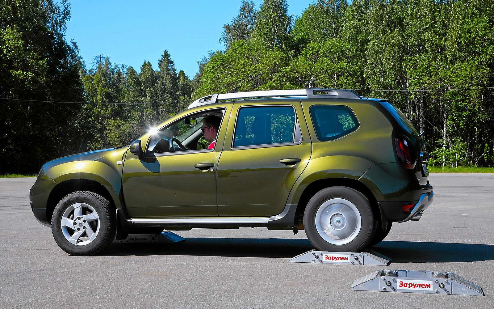Renault Kaptur, Renault Duster, Suzuki Vitara: мода от-каптюр— фото 619992