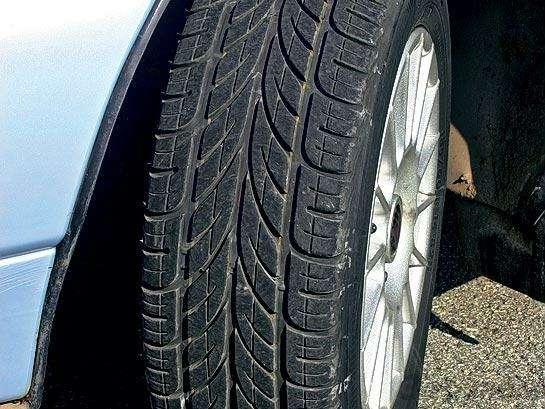 Спецтест. Направленные шины задом наперед: Нетрадиционная ориентация— фото 91102