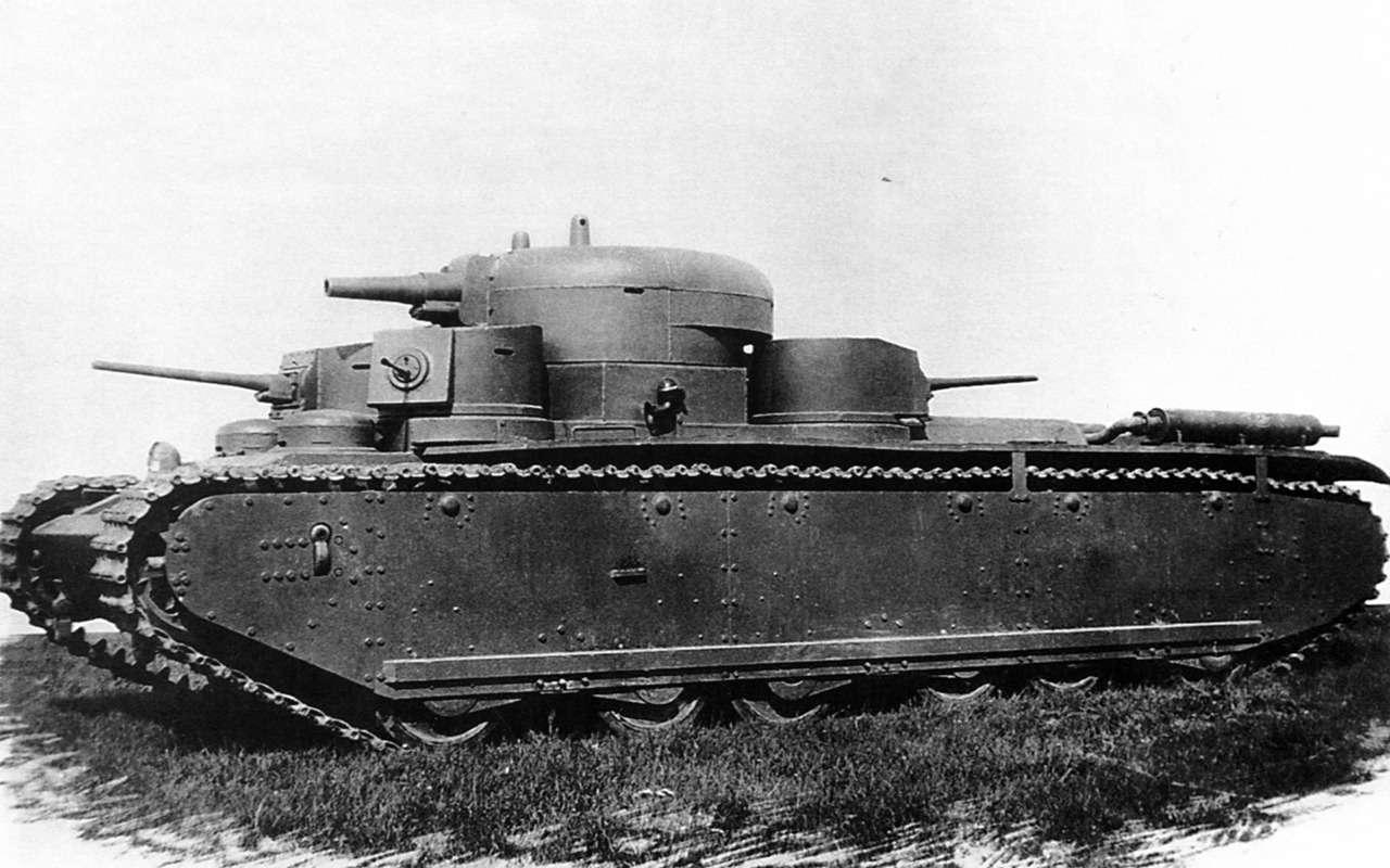 Неизвестный гигант Красной Армии: пятибашенный танк Т-35— фото 974063