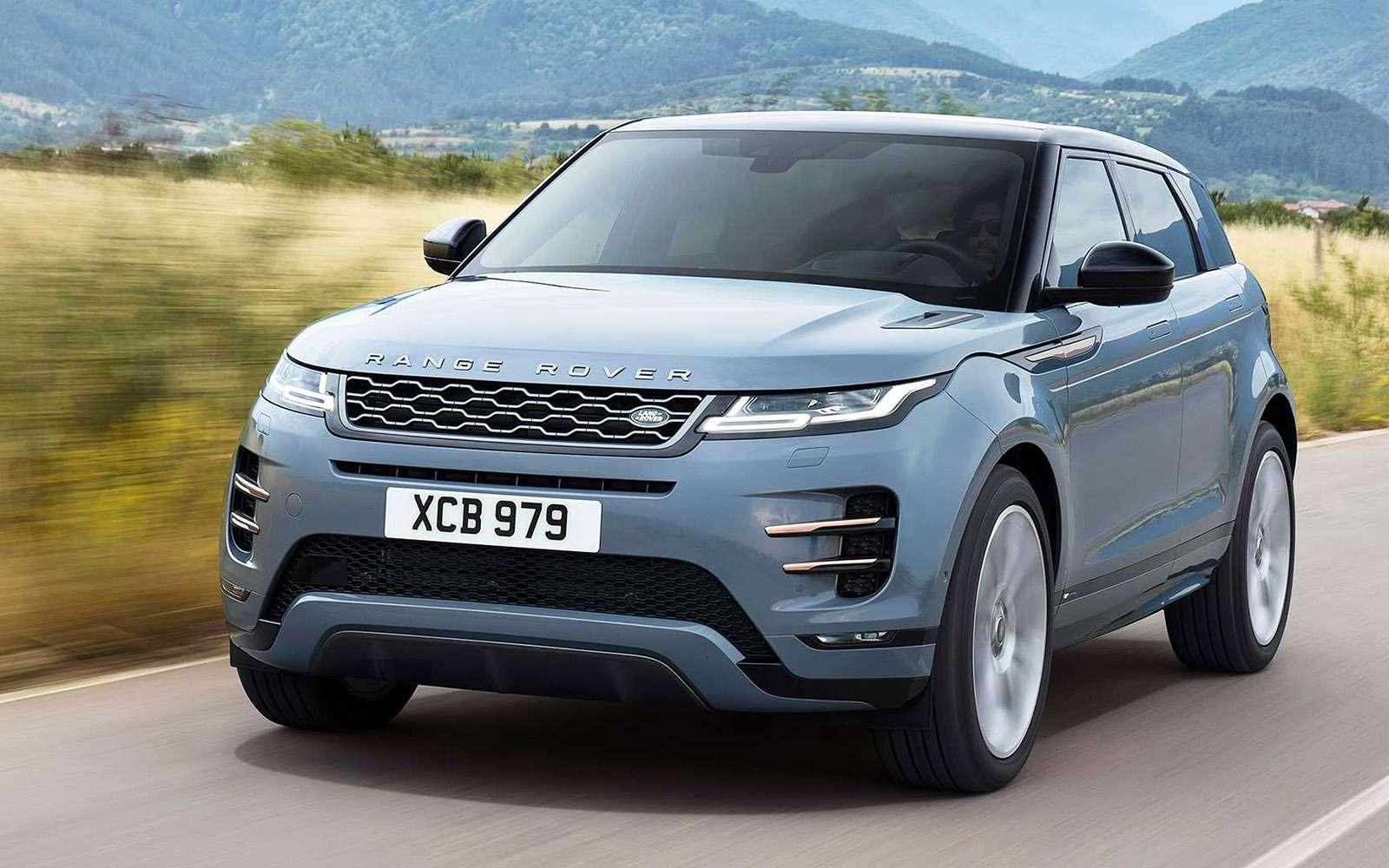 Новый Range Rover Evoque: почти Velar, нотолько дешевле— фото 925449