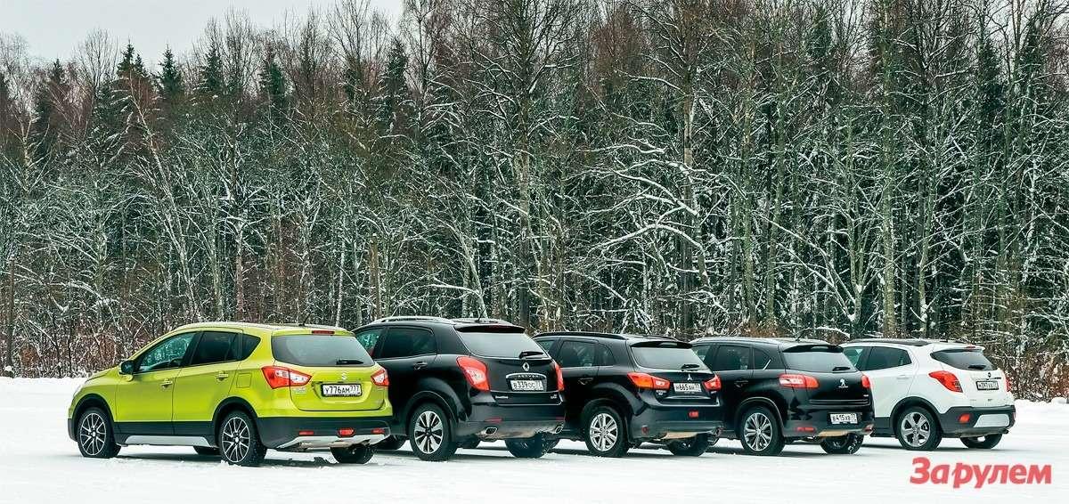 Большой тест-драйв паркетников: ближе кземле— фото 259848