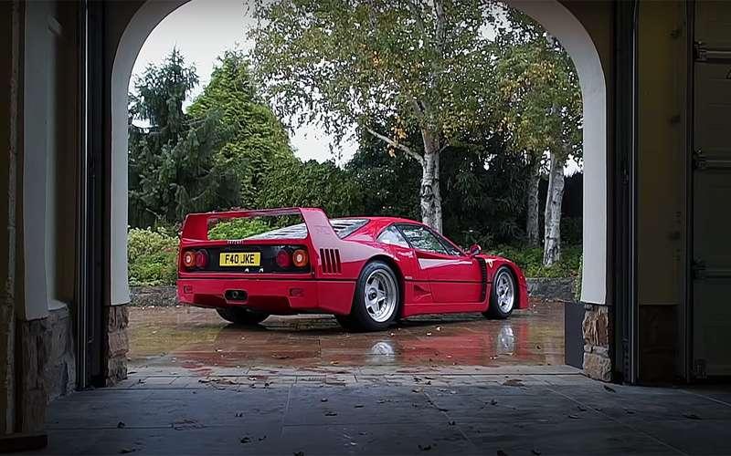 Водитель недели: в80лет зарулем Ferrari
