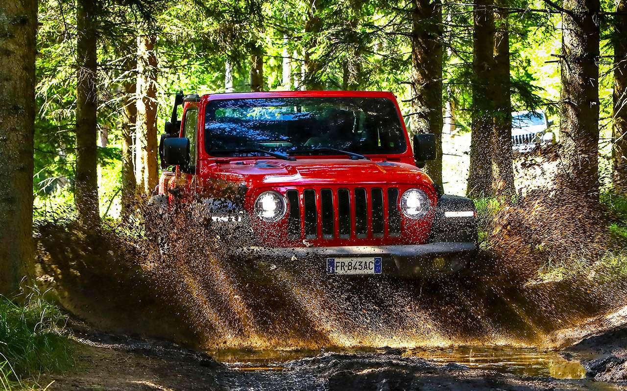 Новый Jeep Wrangler— этот «проходимец» верен себе— фото 893439