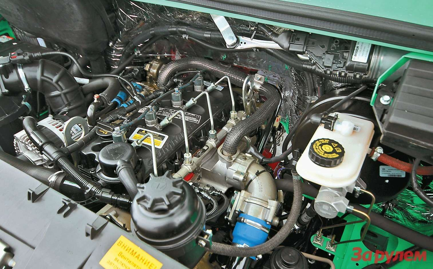 Пока дизелю Cummins ISF 2.8нет альтернативы. Настройка мощности минимальная дляэтого мотора— 120л. с., аесть и163-сильные версии...