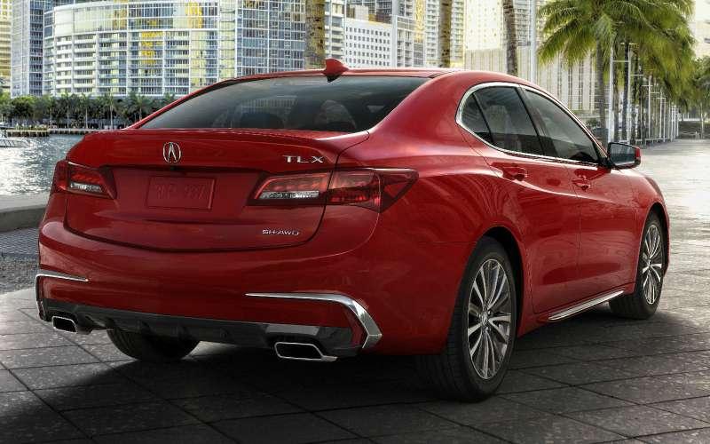 Acura TLX: ювелирное обновление
