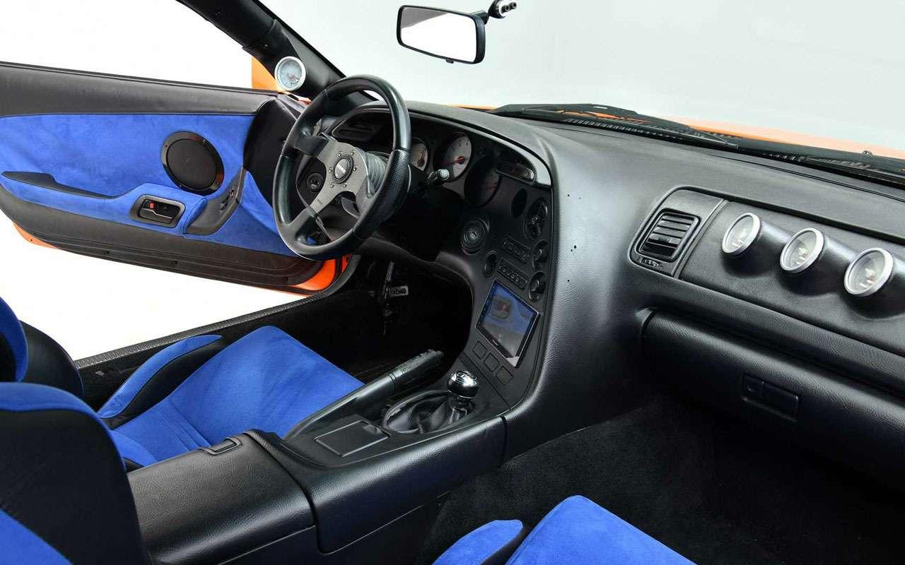 Toyota Supra из«Форсажа» выставляется наторги— фото 1248707