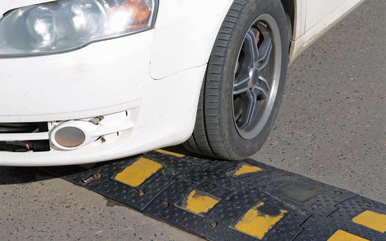Повредил машину из-за «лежачего полицейского» не поГОСТу— что делать?— фото 855080