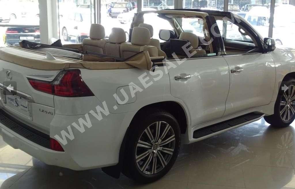Арабская свежесть: вседорожнику Lexus отрезали крышу— фото 630788