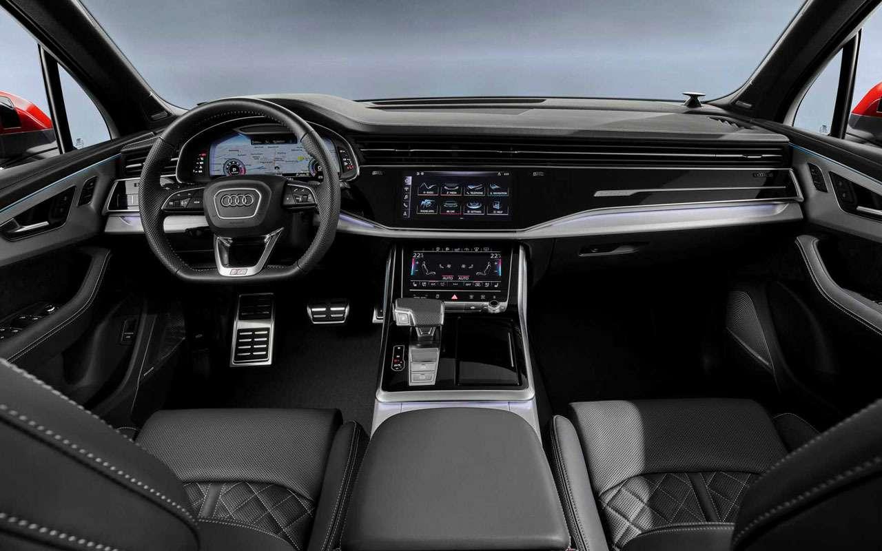 Обновленный Audi Q7— мягкие гибриды исвязь сосветофорами— фото 982627
