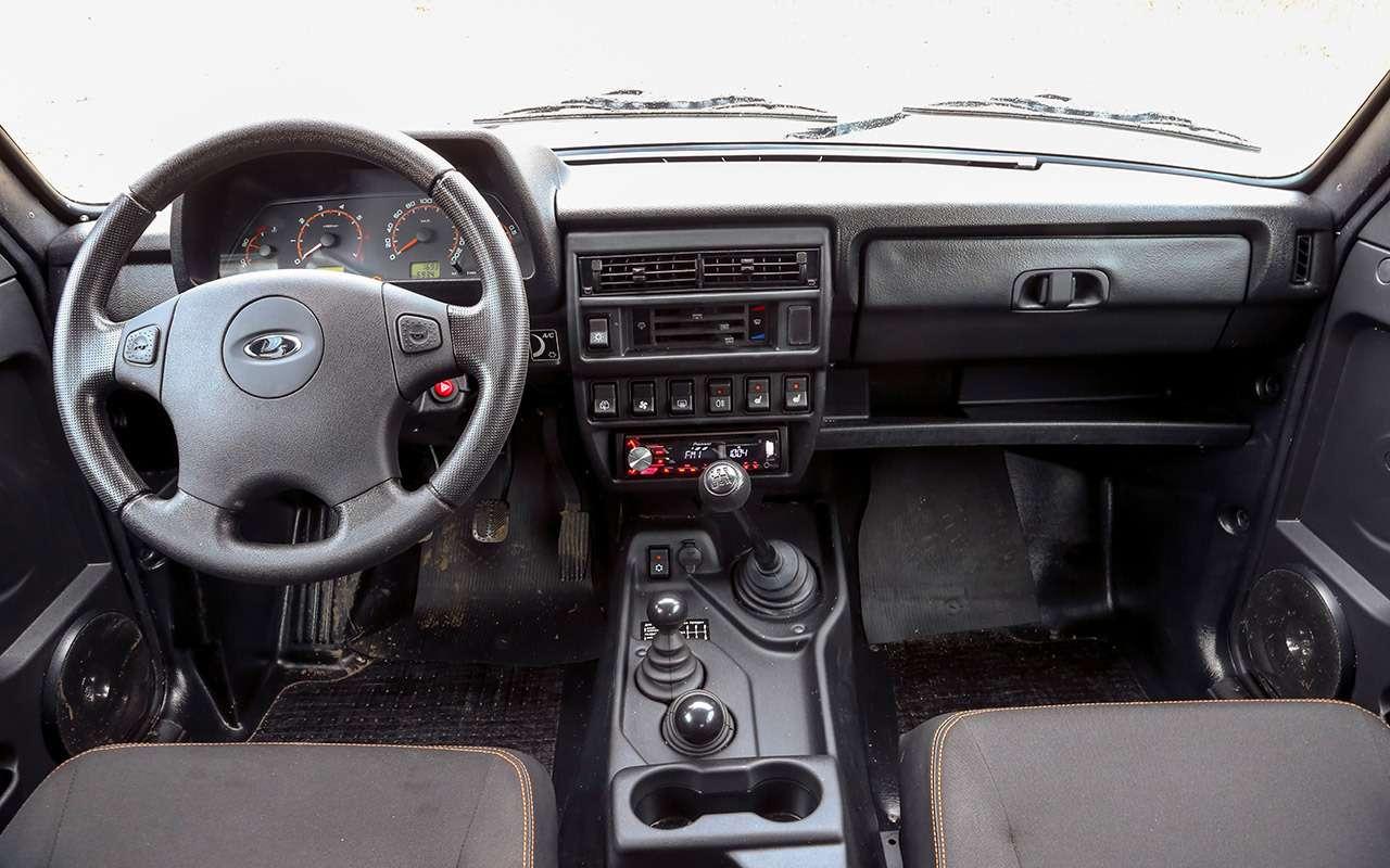 Тест-драйв легенд бездорожья: Lada 4x4, Suzuki Jimny, Jeep Wrangler— фото 1089433