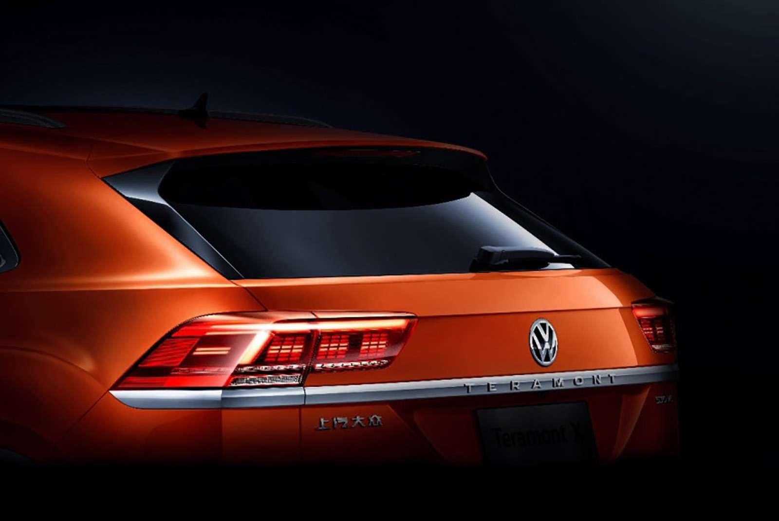 Новый кроссовер Volkswagen: первые фото иинформация— фото 965280