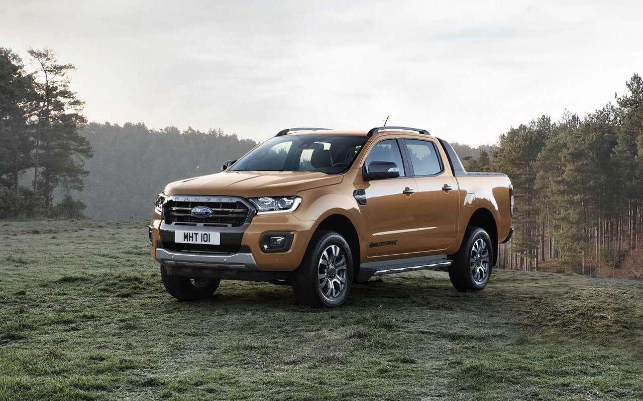 Ford показал обновленный пикап дляевропейского рынка— фото 943003