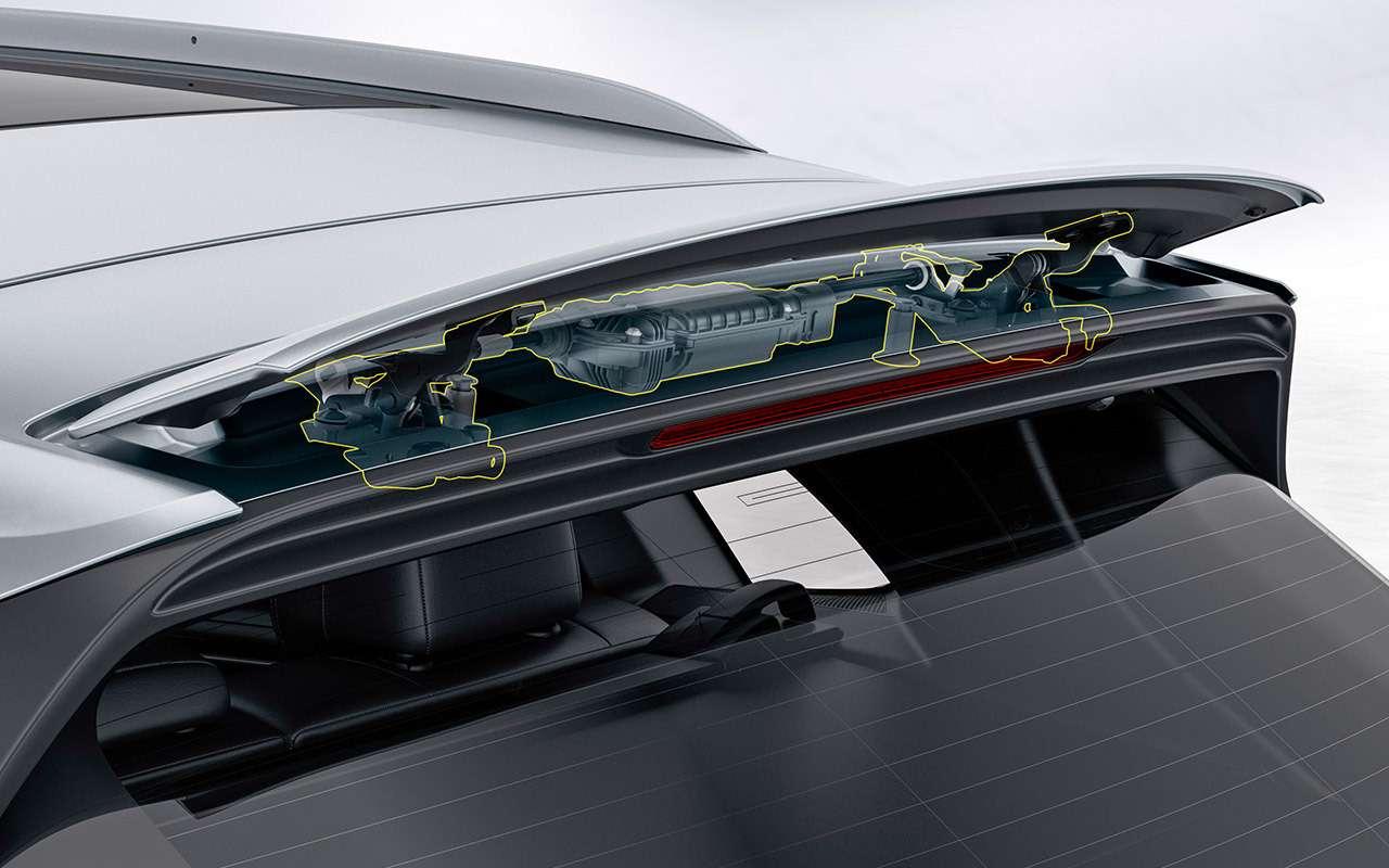 Новый Porsche Cayenne: все самое интересное— внутри— фото 825998