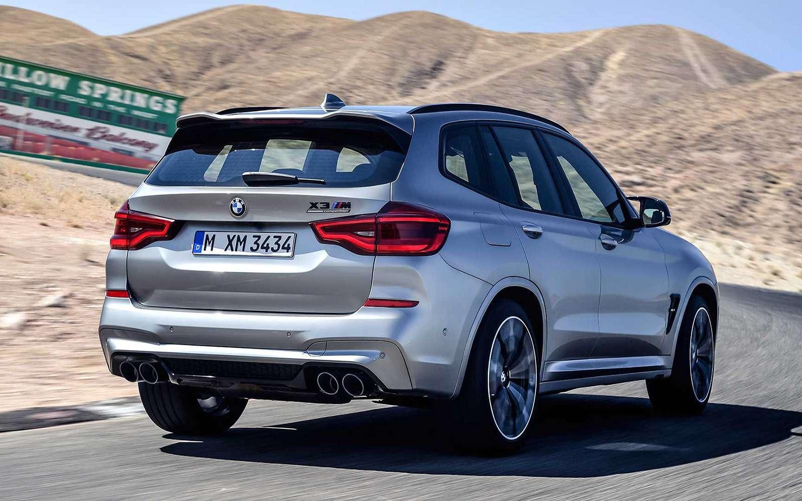 BMWрассекретила самые крутые версии кроссоверов X3и X4— фото 948702