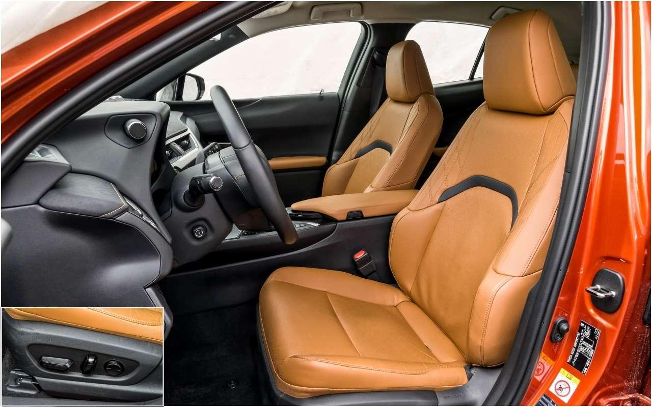 Большой тест маленьких, нодорогих кроссоверов: Volvo, Lexus, Jaguar— фото 983847