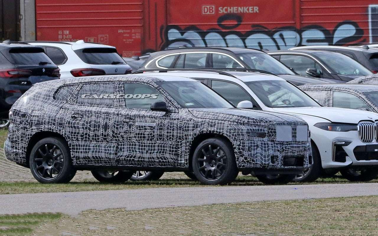 Новый BMW X8: первые кадры сиспытаний— фото 1171696
