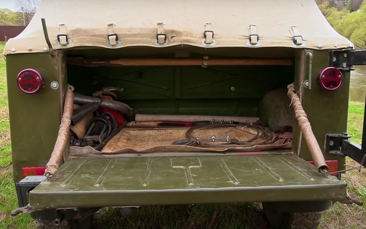 ГАЗ-69: кабриолет сдверьми нашпингалетах— фото 1245960