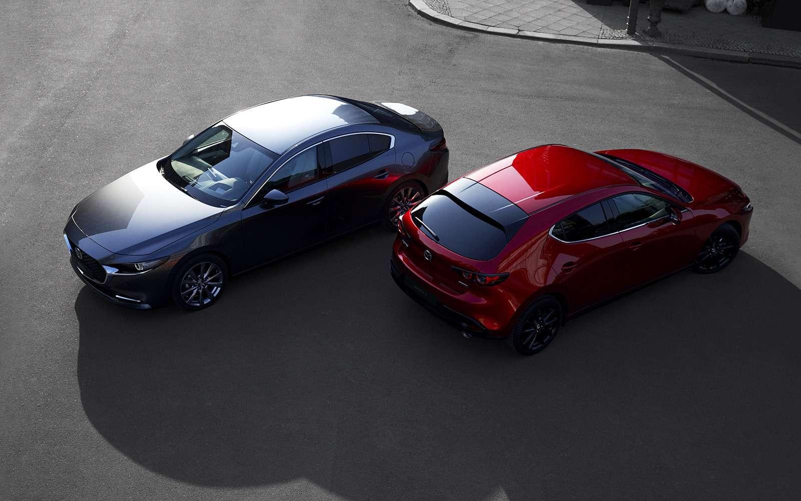 Новая Mazda 3: рассматриваем вдеталях совсех сторон— фото 928229