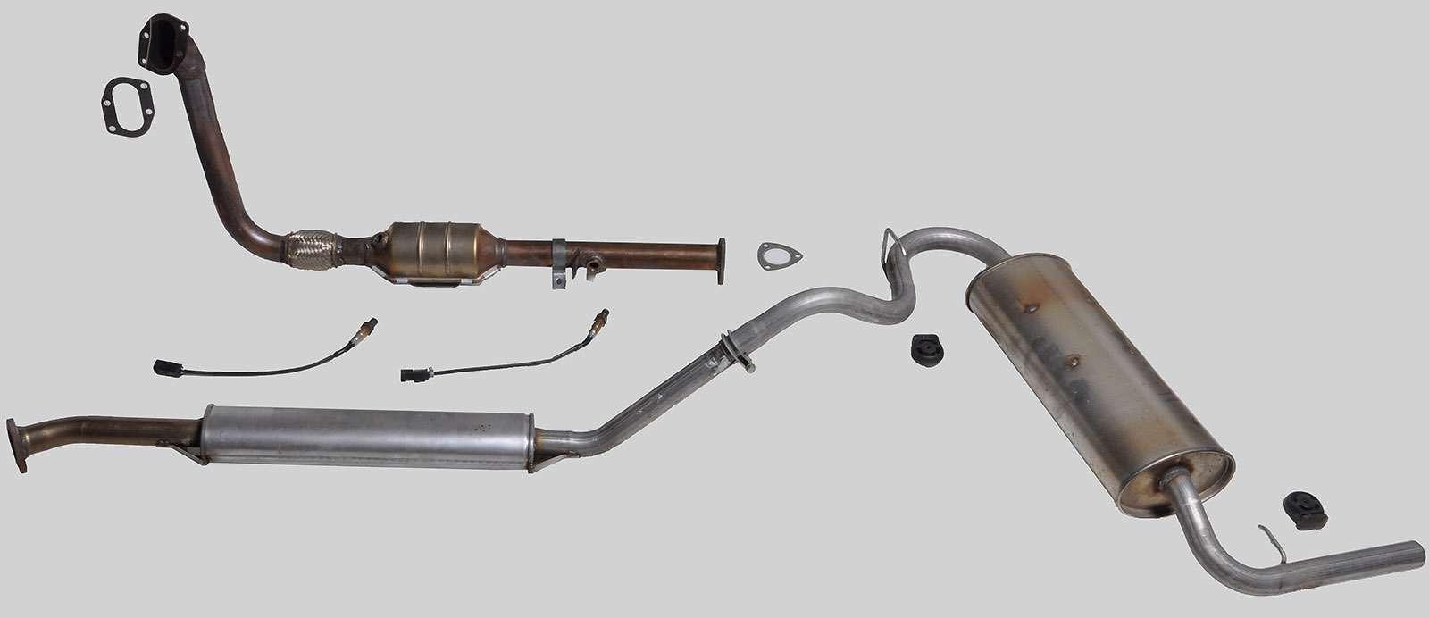 Система выпуска отработавших газов Lada 4x4