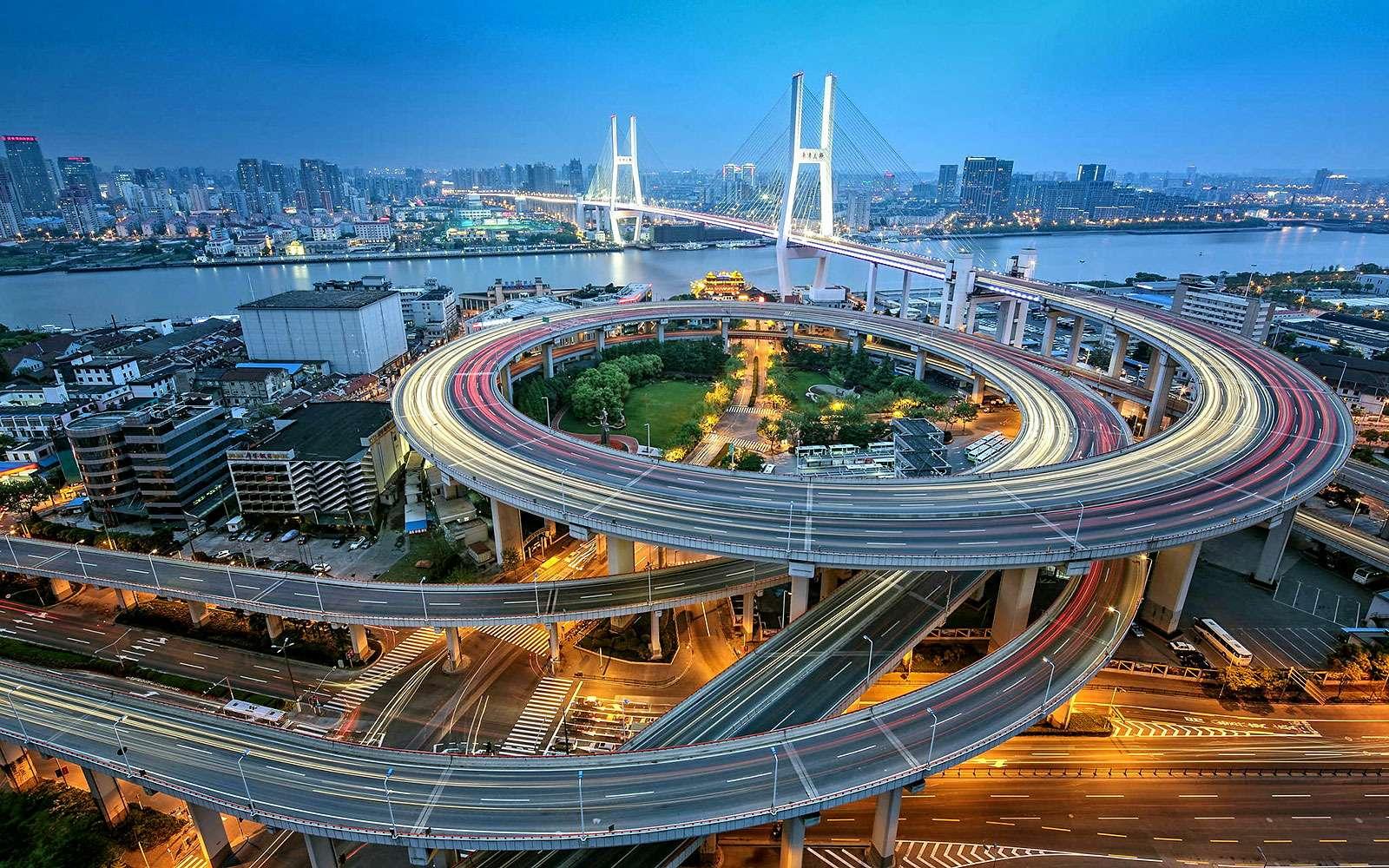 Мост Нанпу, Шанхай, КНР