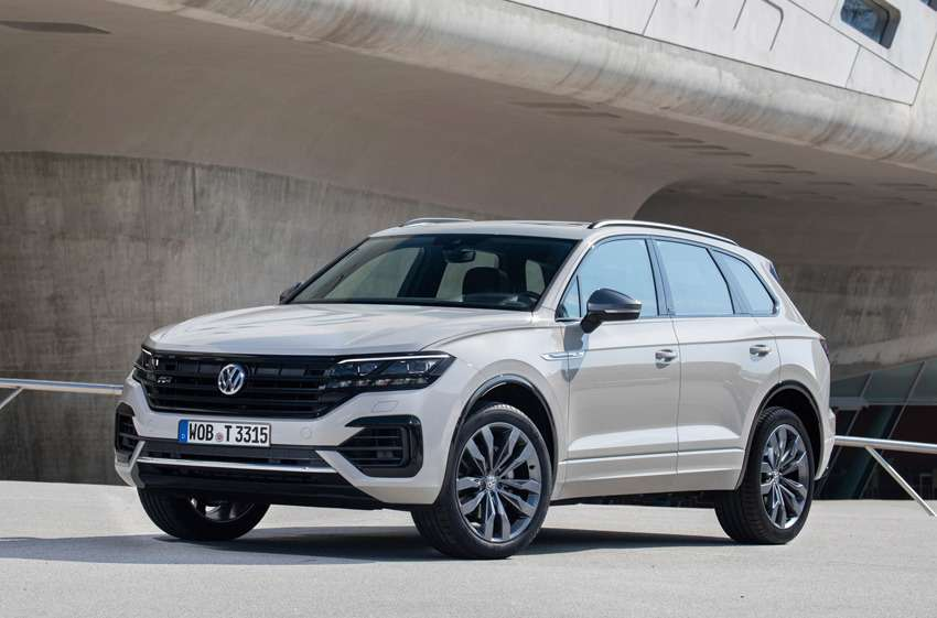 Новая версия Volkswagen Touareg — ONE Million — фото 988966