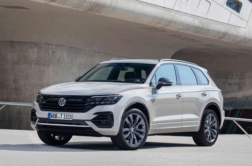 Новая версия Volkswagen Touareg— ONE Million— фото 988966