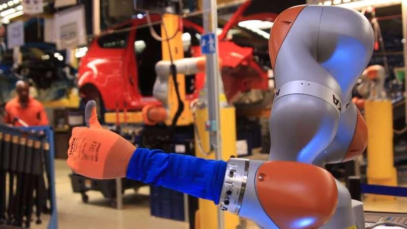 Робот наконвейере Ford— помощник или конкурент человека?